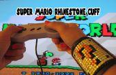 Super Mario Rhinestone manchet
