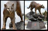 Creëren van een universiteit Monument en Replica brons