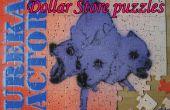 Het toevoegen van uw eigen kunst aan dollaropslag legpuzzels