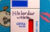 Reizen / minimale bindgaren dispenser van floss vak