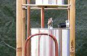 Het Allen Hydrautomat, een werkmodel van het tin van verf.