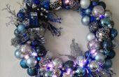 Verlicht Tardis Ornament Krans