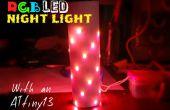 Kleur veranderende LED nachtlampje