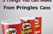 3 dingen die u van Pringles blikjes maken kunt