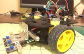 Eenvoudige regel volgeling robot met behulp van een Actobotics Runt Rover Sprout