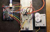ARDUINO stappenmotor gecontroleerd met roterende encoder en l293d of SN754410NE-chip