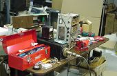 Herstellen van een condensator - kleine Air variabele condensator in zender