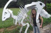 Goedkope dinosaurus skelet kostuum