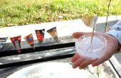 Kinderen ijs boot gemaakt van ijs! Eco-vriendelijke & gratis! Leuke Kids speelgoed!
