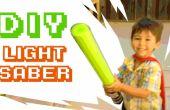 Zwembad Noodle Light saber!