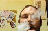 Goedkope hoogvermogen elektronische sigaret van een zaklamp.