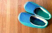 Gezellig huis schoenen tutorial