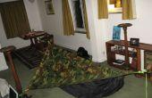 DIY asymmetrische Tent van de hangmat met Tarp (zelfgemaakte hangmat tent)
