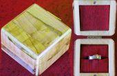Maken van een Ring vak van hout kladjes