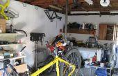 Hoe maak je een opknoping fiets fiets reparatie staan (gewijzigd)