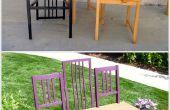 Het maken van drie stoelen in één fantastische bank