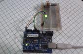 Arduino leidde intensiteit met potenciometer