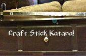 Ambachtelijke Stick Katana!