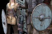 Seizoen 1 van de TV-Show van Vikingen: Ragnar en Lagertha kostuums met Bonus haar instructie hoe te