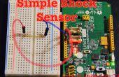 Eenvoudige schok/trilling schakelaar/Sensor