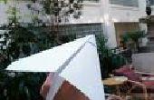 Eenvoudige papier straaljager