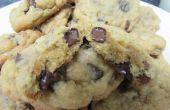 Taai Chocolate Chip en walnoten Cookies