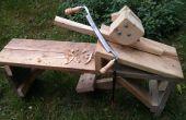 Herstel van een antieke Drawknife