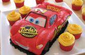 De Cake van de kindverjaardag van bliksem McQueen