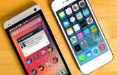 How to make A-schakelaar van Android naar iOS Platform