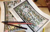 Middeleeuwse Coloring boek