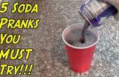 5 soda Pranks die moet u proberen!