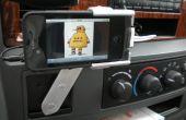 Roterende Car Mount voor iPhone uit gerecycleerd elektronica en Garage voor ongewenste