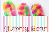 How To Make Gummy Bear ijslollys
