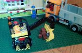 Lego graafmachine voor de kinderen