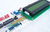 Hoe te rijden een karakter LCD wordt weergegeven met behulp van DIP-schakelaars