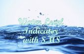 Waterniveau-Indicator met SMS