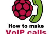 Hoe te om VoIP van Raspberry Pi te