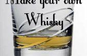 Bouwen van een Whisky nog steeds