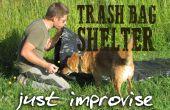 Overleven zonder stijl - de ultieme vuilnis zak shelter