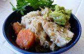 Groene Chili kip (één Pot)