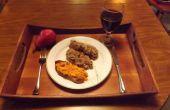RICOTTA MEATLOAF GEGLAZUURD met tomaten en WILD CHERRY BRANDY