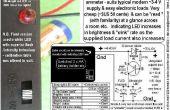 "Single LED ""ampèremeter"" - GEVLUCHTE gebaseerd."