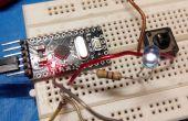 Gemakkelijk Arduino Pro Mini TV-B-Gone vermomd