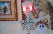 Halloween Arduino skelet