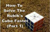 Hoe op te lossen van de Rubiks kubus sneller (deel 1)