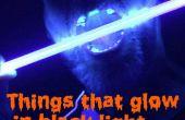 Dingen die zal gloeien In het licht van de Black(UV)