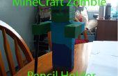 MineCraft Zombie - potlood/Pen houder