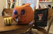 Maken van een Halloween pompoen Punch Bowl