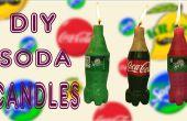 Maak Mini Coca Cola & Sprite kaarsen DIY Soda kaarsen