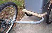 DIY fiets aanhangwagen